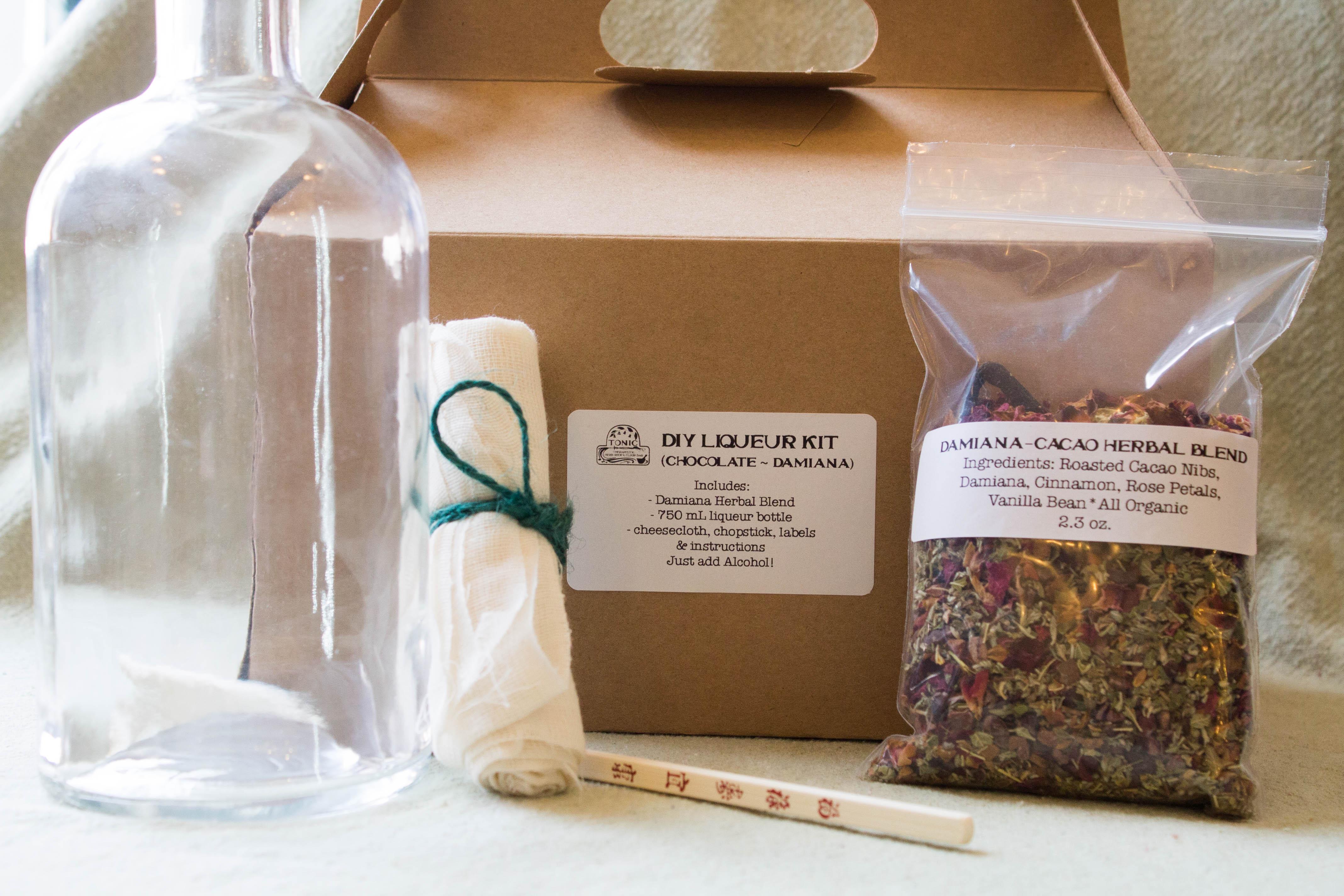 DIY Liqueur Kits - Tonic Herb Shop