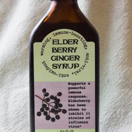 Elder Berry Ginger Syrup