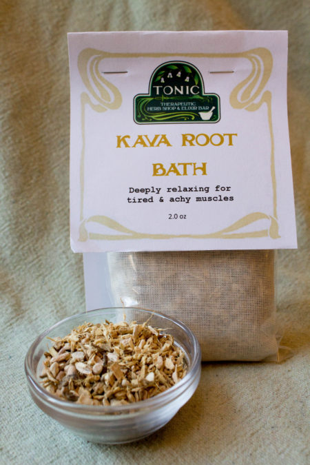Kava Root Bath