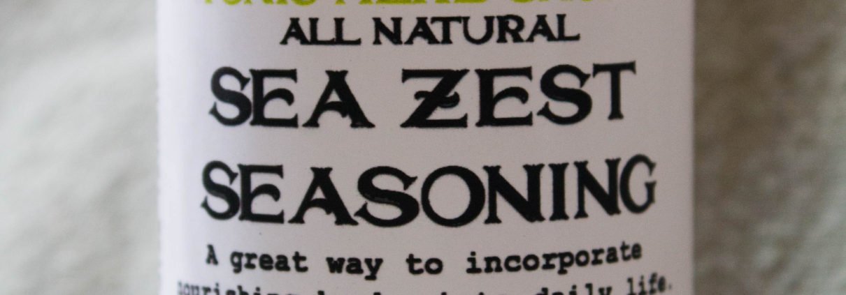 Sea Zest Seasoning